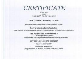 IQNet OHSAS 18001-EN
